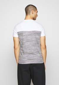 Hollister Co. - CORE TECH SMALL SCALE BLOCK  - T-shirt imprimé - grey splicing - 2