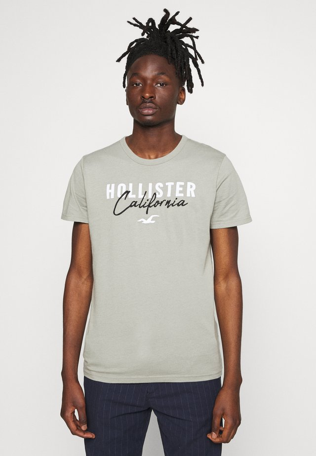 CORE TECH LOGO - T-shirt med print - olive