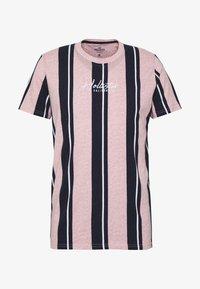 Hollister Co. - TECH LOGO STRIPES - Camiseta estampada - pink - 3