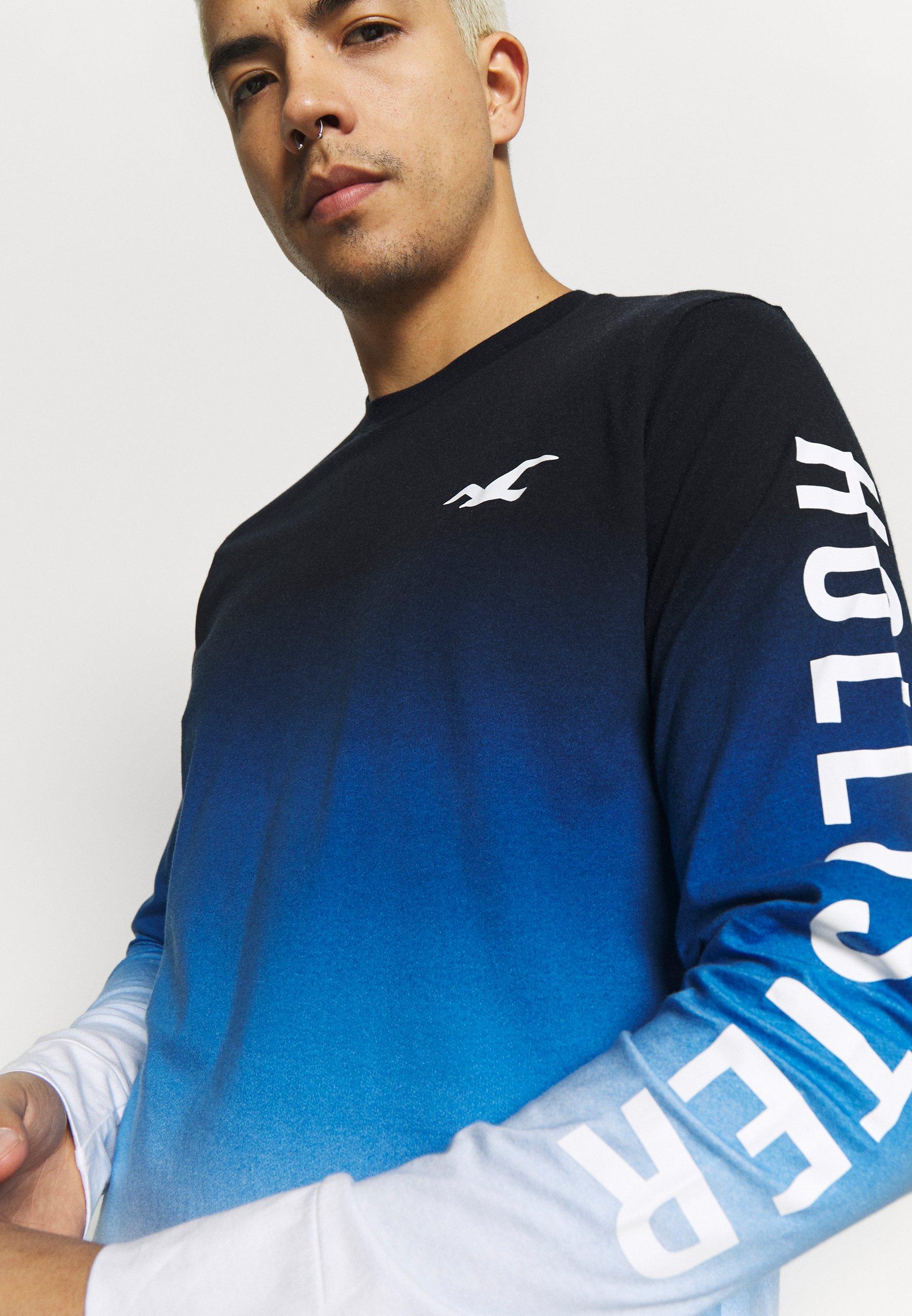 Hollister Co. Bluzka z długim rękawem - blue ombre