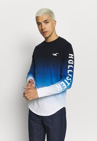 Hollister Co. - Long sleeved top - blue ombre - 0