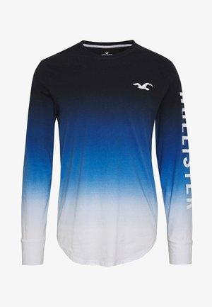 Långärmad tröja - blue ombre