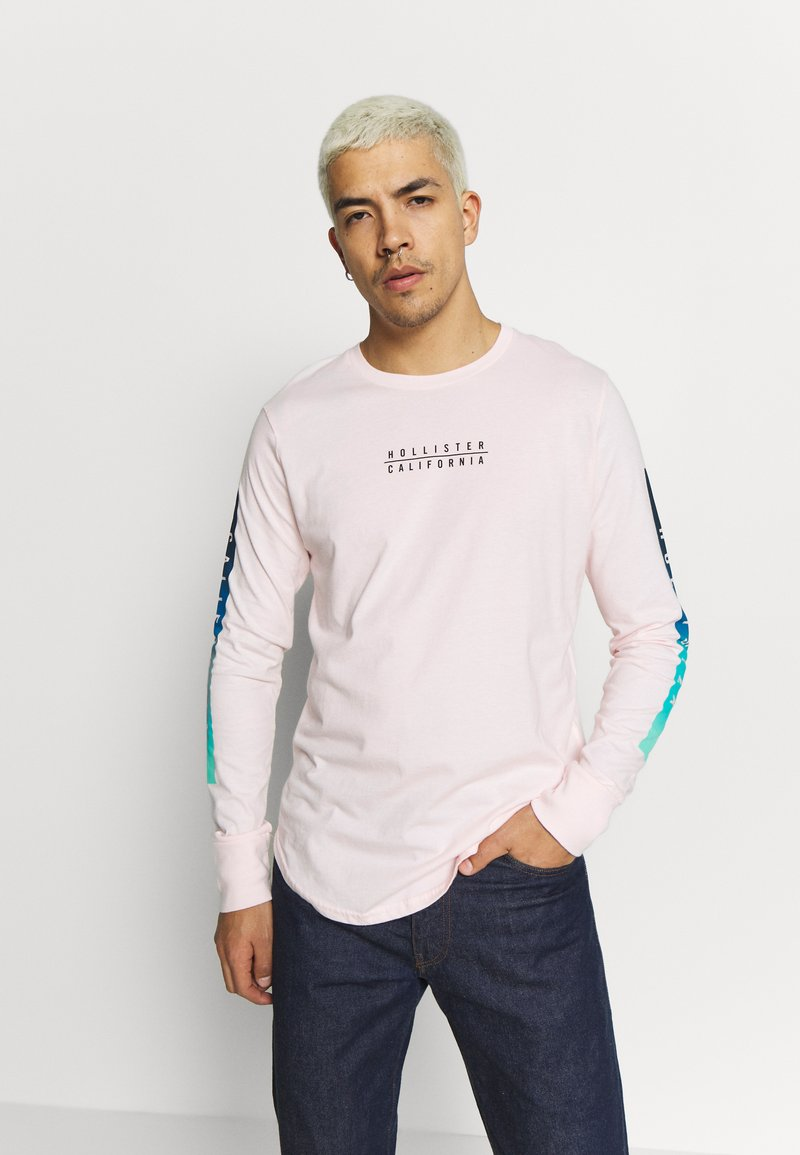 Hollister Co. - OMBRE SOLIDS - Long sleeved top - pink