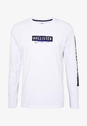 LARGE SCALE TECH LOGO  - Maglietta a manica lunga - white