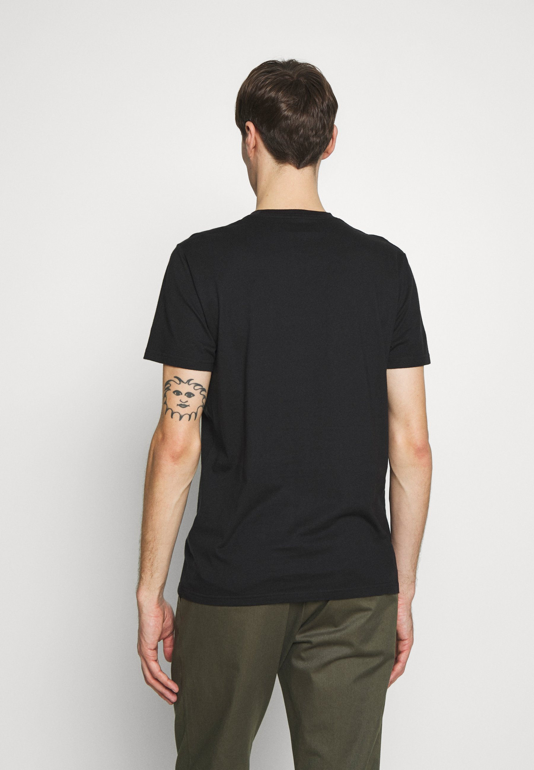 Hollister Co. CREW SOLIDS - T-shirt basic - black