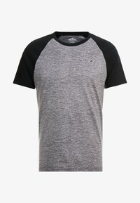 Hollister Co. - CREW RAGLAN  - T-shirt imprimé - grey - 4