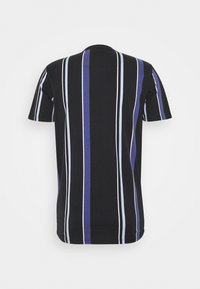 Hollister Co. - STRIPE LOGO - T-shirt con stampa - black - 1