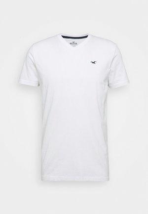 SOLIDS  - Basic T-shirt - white