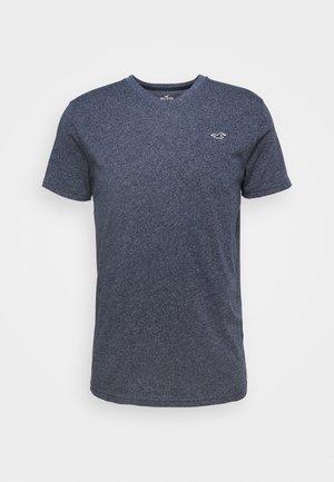 SOLIDS  - Basic T-shirt - navy siro