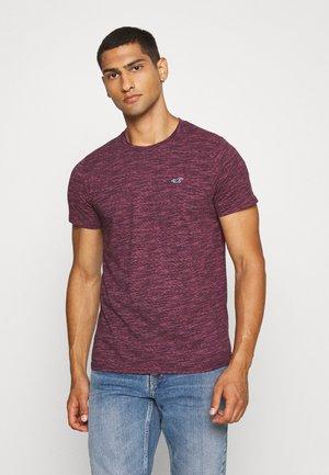 CREW - Camiseta estampada - burg