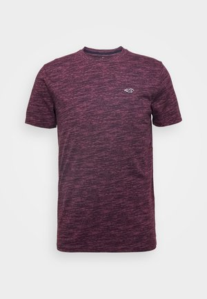 CREW - T-Shirt print - burg