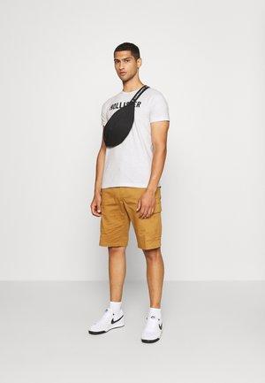EX CORE TECH LOGO MULTI - Print T-shirt - grey/mint/cobalt