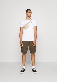 Hollister Co. - SEASONAL CREW 3 PACK  - T-shirt imprimé - blue - 0