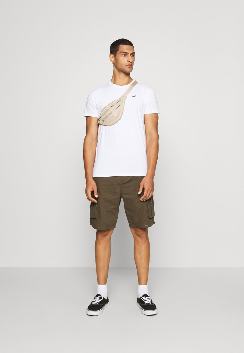 Hollister Co. - SEASONAL CREW 3 PACK  - T-shirt imprimé - blue