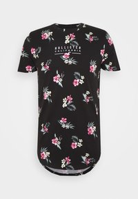 Hollister Co. - FLORAL SMALL SCALE - Printtipaita - black - 0