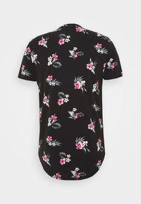 Hollister Co. - FLORAL SMALL SCALE - Printtipaita - black - 1