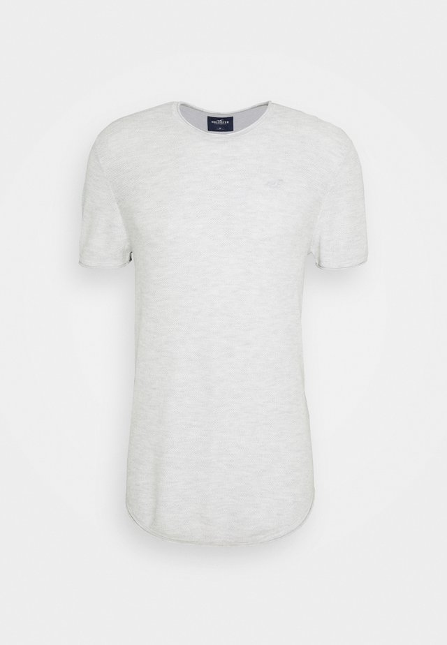 SOLID CREW STONE - T-shirt - bas - vanilla ice