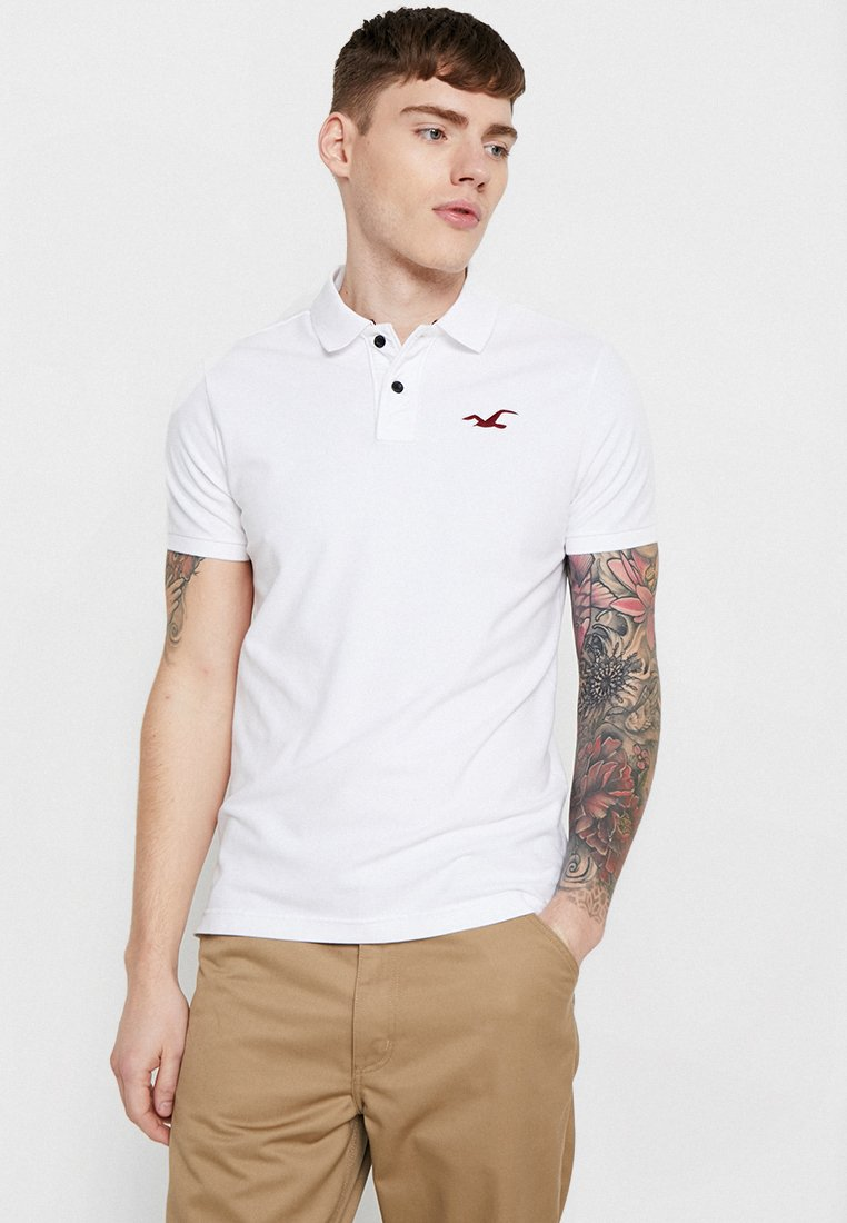 Hollister Co. - EXPLODED ICON - Poloshirt - white