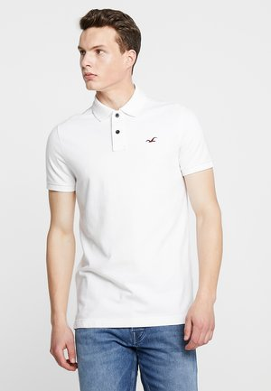 HERITAGE SLIM SOLID - Polo - white