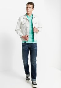 Hollister Co. - HERITAGE SLIM SOLID - Poloshirt - green - 1