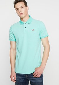 Hollister Co. - HERITAGE SLIM SOLID - Poloshirt - green - 0