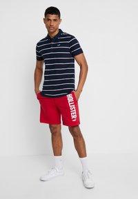 Hollister Co. - MODERN BLOCKING & STRIPE - Polo shirt - blue - 1