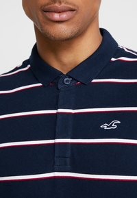 Hollister Co. - MODERN BLOCKING & STRIPE - Polo shirt - blue - 5