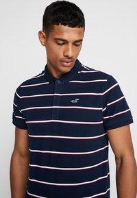 Hollister Co. - MODERN BLOCKING & STRIPE - Polo shirt - blue - 3