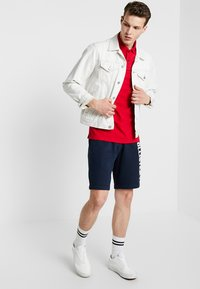 Hollister Co. - HERITAGE MUSCLE SOLID - Polo - red - 1