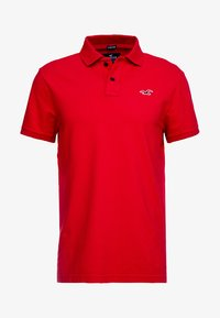 Hollister Co. - HERITAGE MUSCLE SOLID - Polo - red - 3