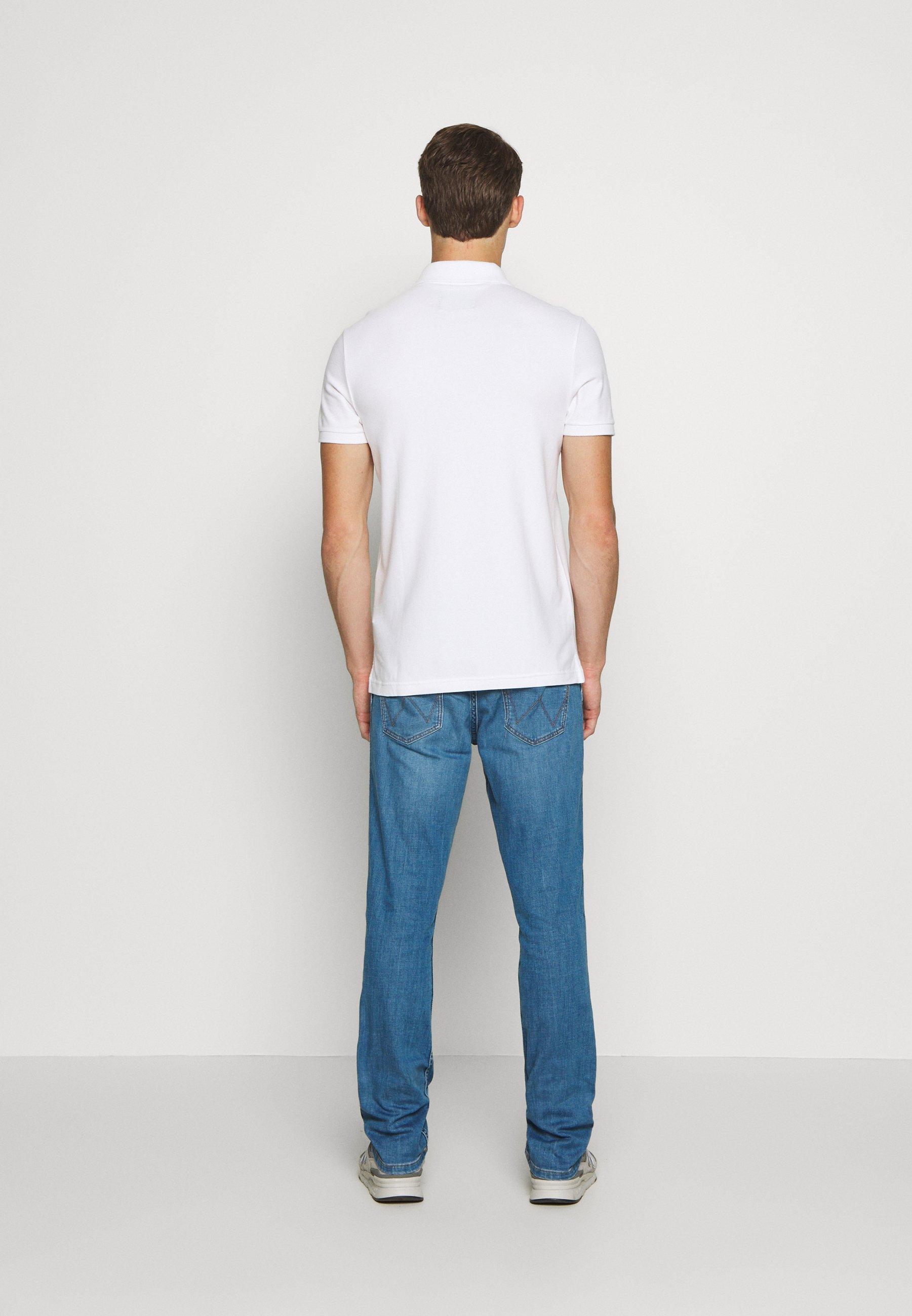 Hollister Co. HERITAGE SOLID NEUTRALS - Koszulka polo - white