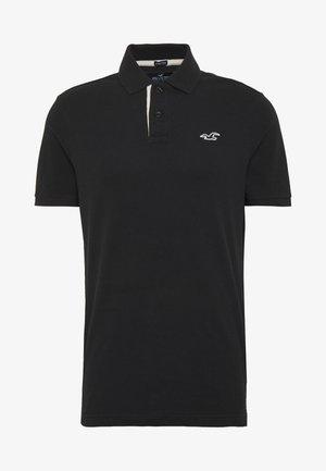 HERITAGE SOLID NEUTRALS - Poloshirt - black