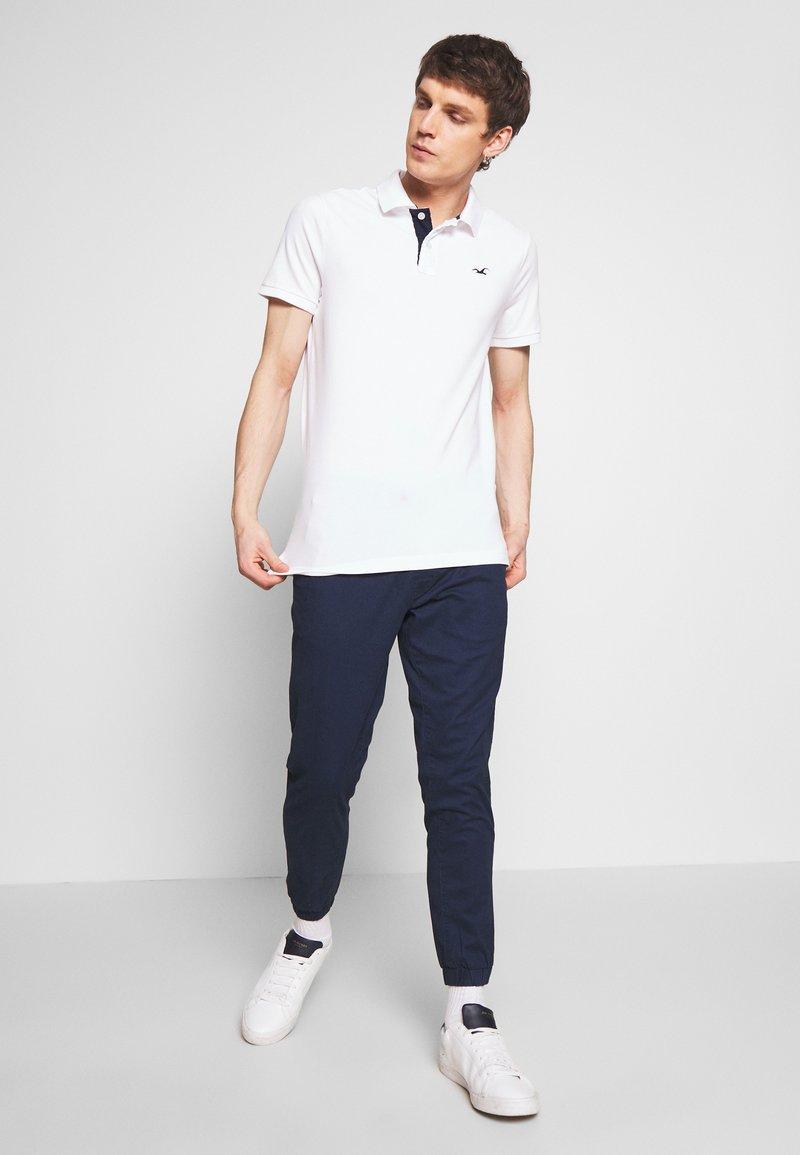 Hollister Co. - 3Pack - Polo shirt - white navy black multi