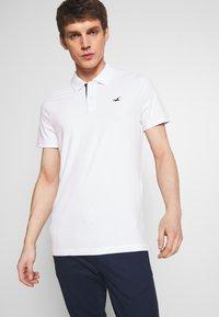 Hollister Co. - 3Pack - Polo shirt - white navy black multi - 3