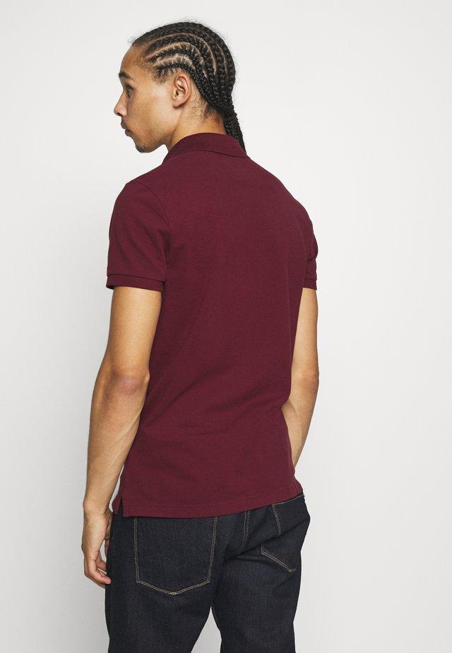 Koszulka polo - burgundy