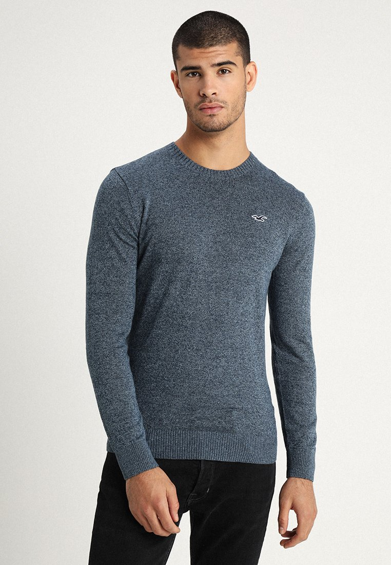 Hollister Co. - CORE CREW - Sweter - navy