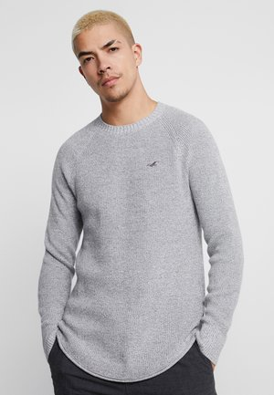 SHAKER STITCH  - Sweter - grey