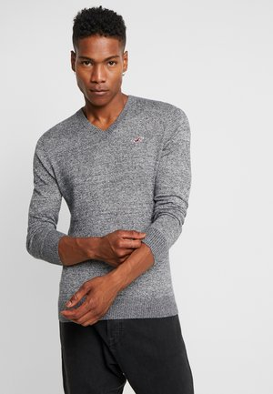 CORE V-NECK  - Svetr - grey