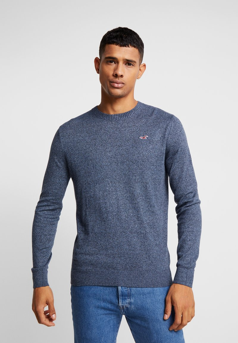 Hollister Co. - CORE CREW - Strikkegenser - navy
