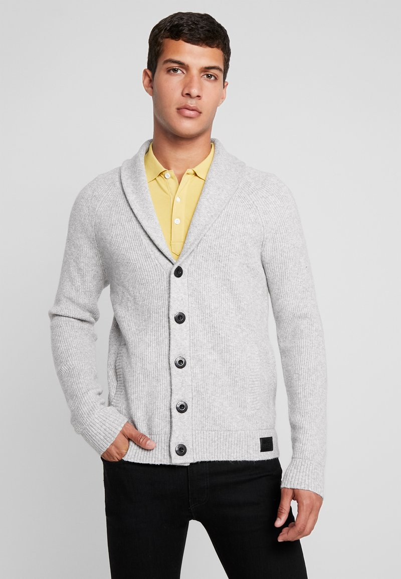 Hollister Co. - SHAWL - Cardigan - grey