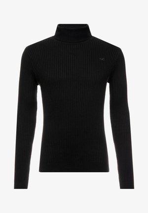 MUSCLE FIT TURTLENECK  - Pullover - black