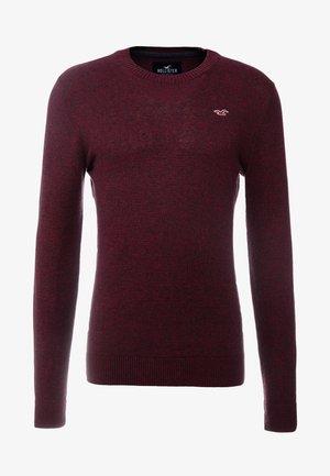 CORE CREW UPDATE - Pullover - burgundy