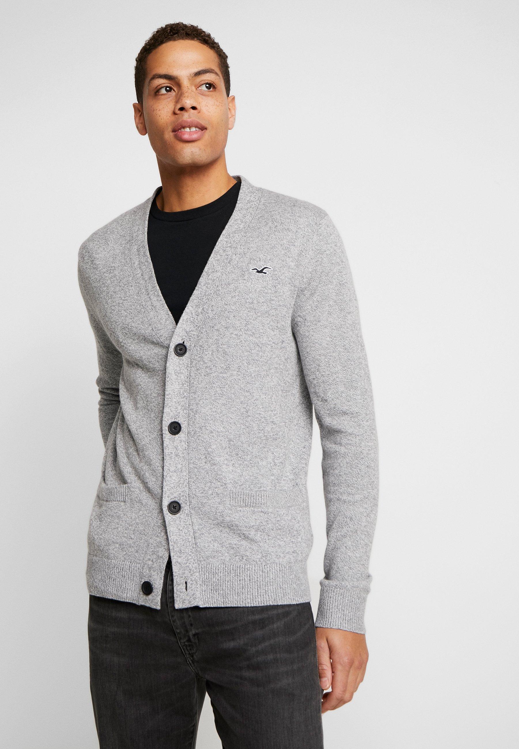 Hollister Co. Kardigan - dark grey