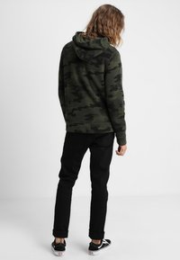Hollister Co. - ICON - veste en sweat zippée - olive - 2
