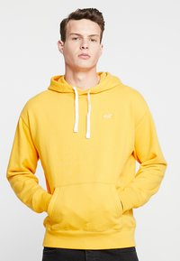 Hollister Co. - SUMMER ICON PO - Felpa con cappuccio - yellow - 0