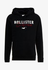 Hollister Co. - TECH LOGO - Hoodie - black - 4