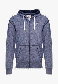 Hollister Co. - CORE ICON - veste en sweat zippée - textural navy - 4
