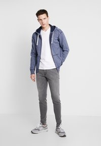 Hollister Co. - CORE ICON - Sweatjacke - textural navy - 1
