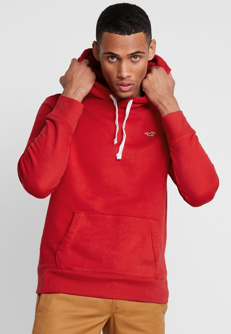 Hollister Co. - CORE ICON - Kapuzenpullover - red