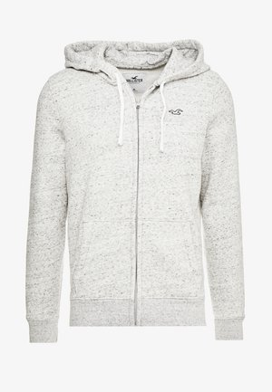 CORE ICON - veste en sweat zippée - grey